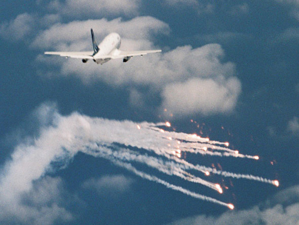 IAI's Flight Guard flare-based system was modelled on one used by the Israeli air force