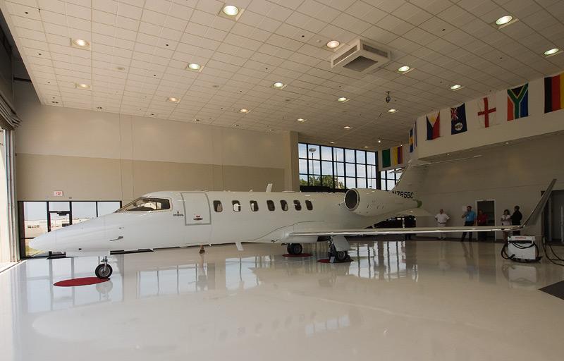 Learjet 40 experimental