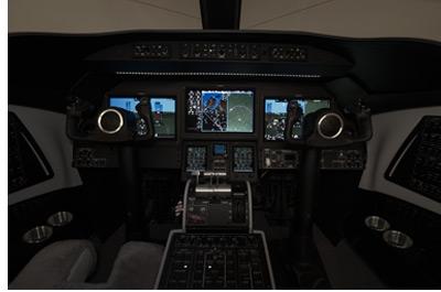 Garmin Vision cockpit system