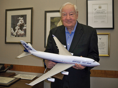 Joe Sutter and his beloved 747 - a love affair that began almost half a century ago