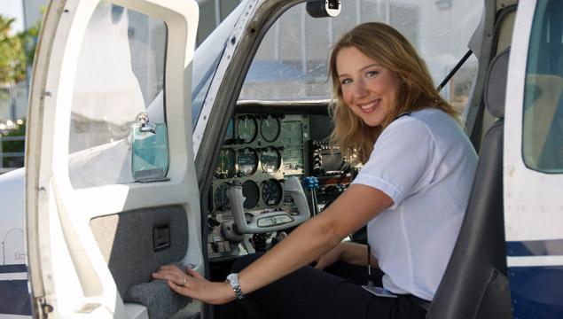 Trainee pilot